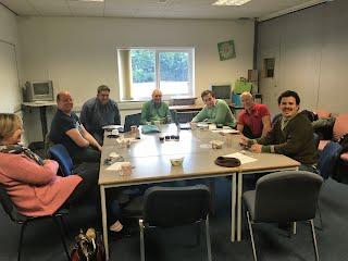 Board meeting in full swing